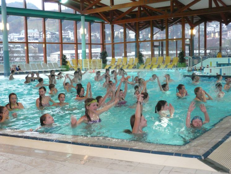 Wassersport im Winter