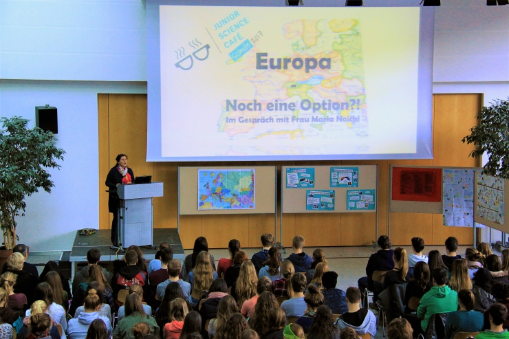 Junior Science Café - Europa noch eine Option?!